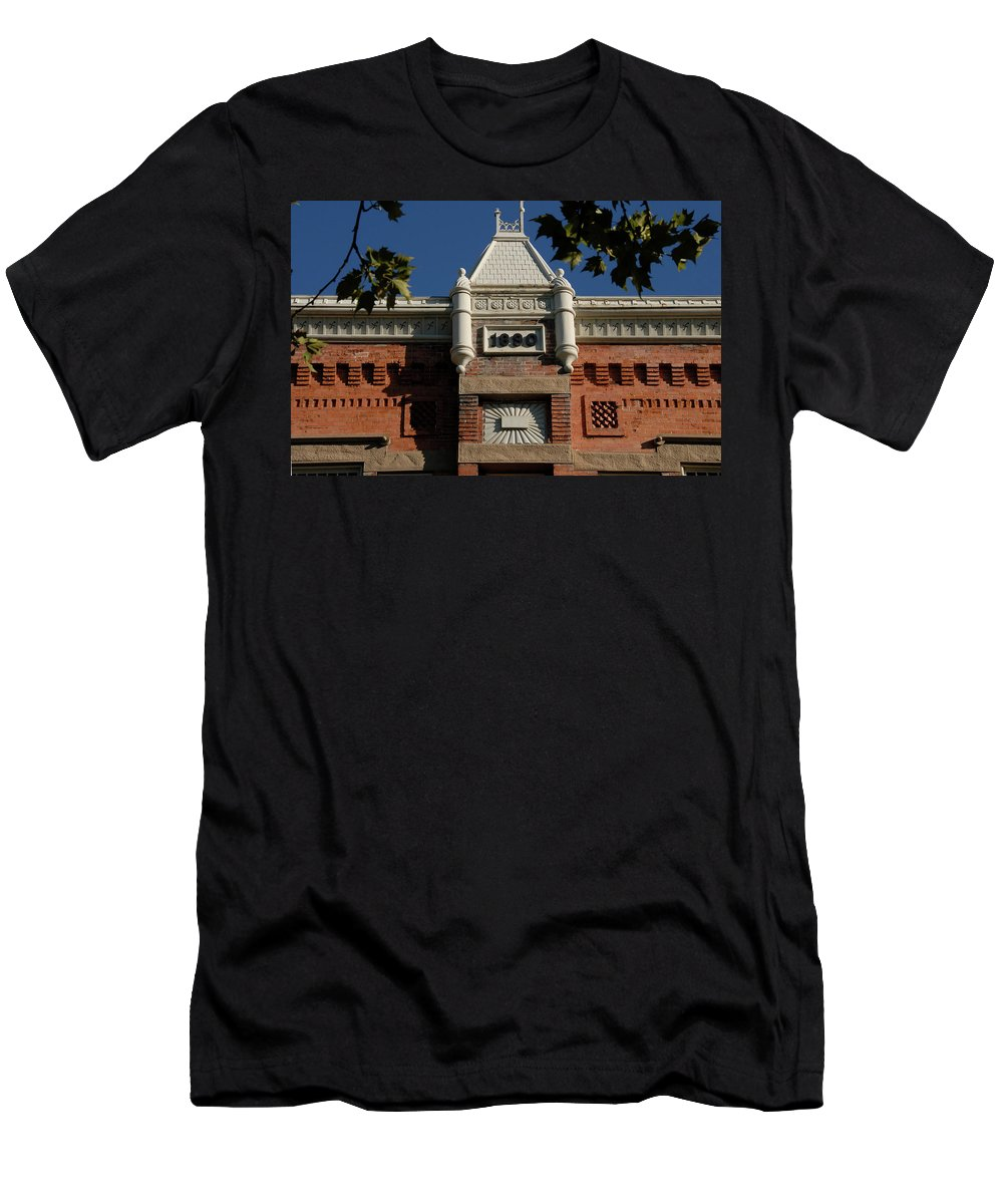 Fine Art Photography Men's T-Shirt (Athletic Fit) featuring the photograph Old Provo by David Lee Thompson
