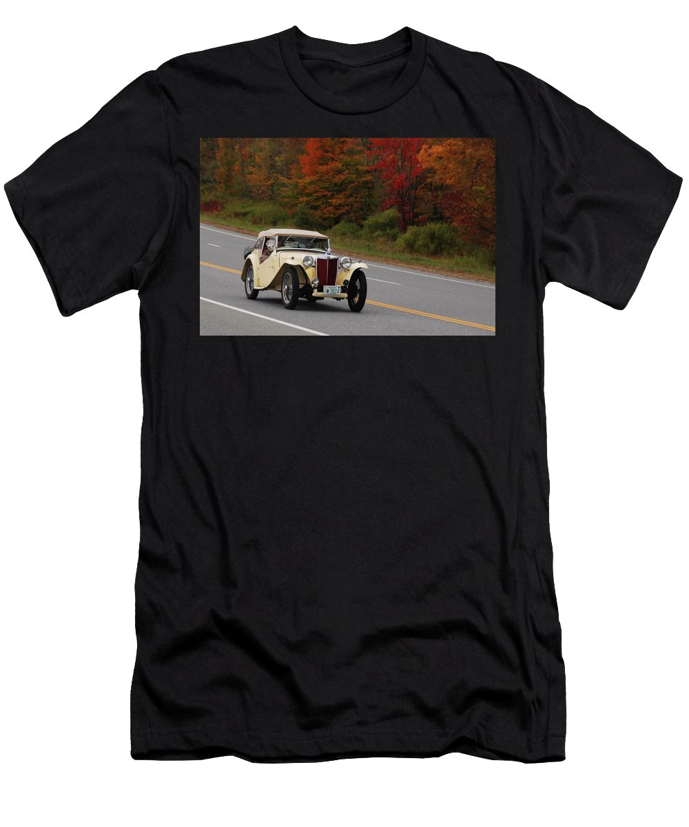 Mg Men's T-Shirt (Athletic Fit) featuring the photograph Old Yeller 8168 by Guy Whiteley