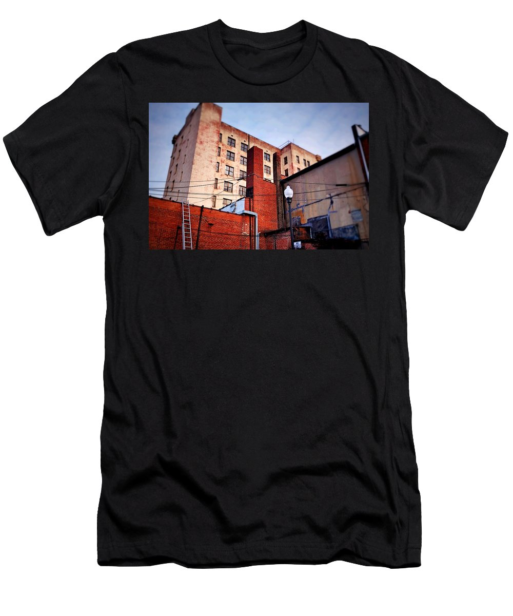 Fine Art Men's T-Shirt (Athletic Fit) featuring the photograph On The Other Side by Rodney Lee Williams