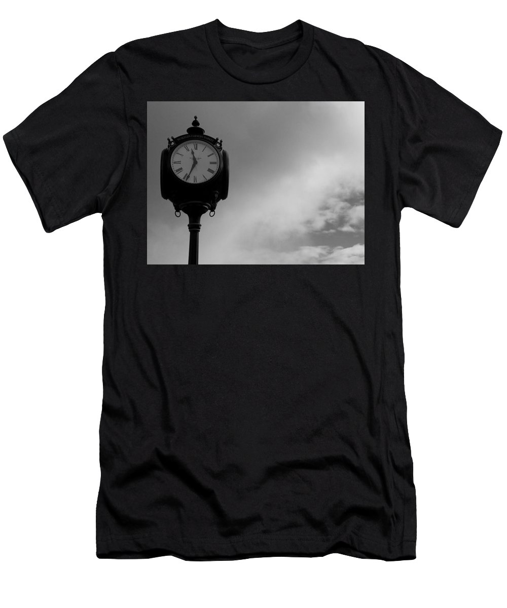 Men's T-Shirt (Athletic Fit) featuring the photograph On Time by Phillip Drake