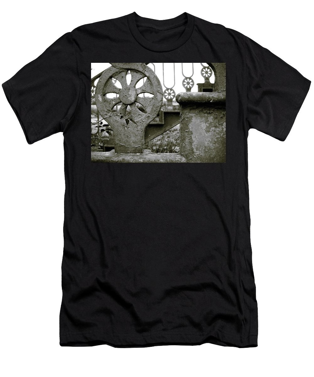 United Kingdom Men's T-Shirt (Athletic Fit) featuring the photograph Once Upon A Stairway by Julia Raddatz