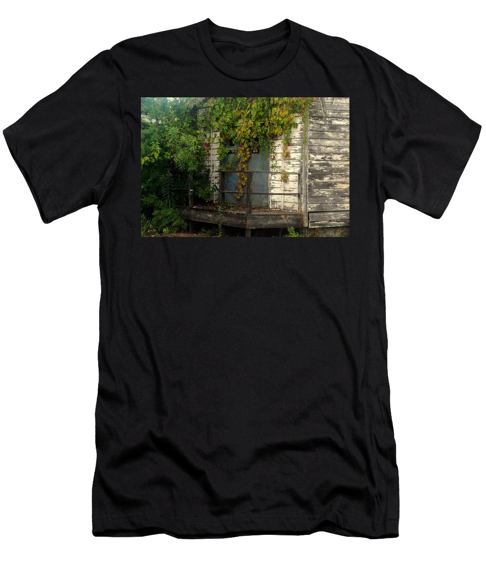 Once Upon A Time Men's T-Shirt (Athletic Fit) featuring the photograph Once Upon A Time by Susanne Van Hulst