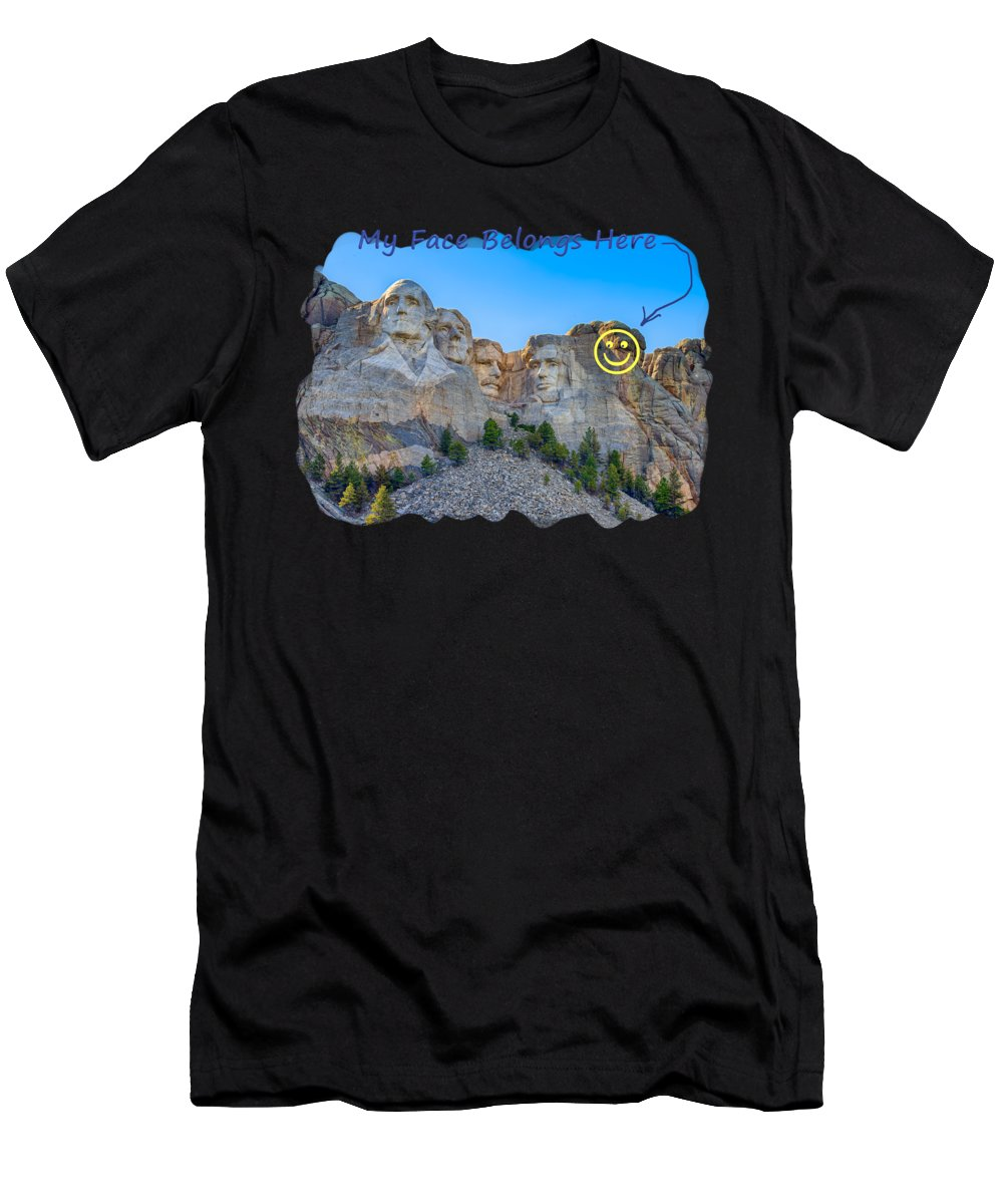 Landscape Men's T-Shirt (Athletic Fit) featuring the photograph One More by John M Bailey