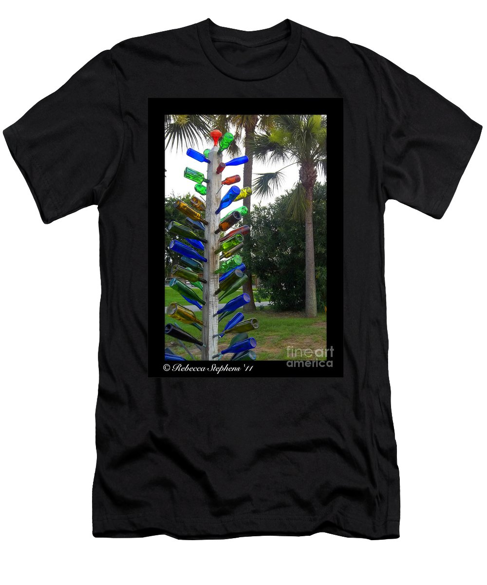 Glass Men's T-Shirt (Athletic Fit) featuring the photograph One Of These Things Doesnt Belong by Rebecca Stephens