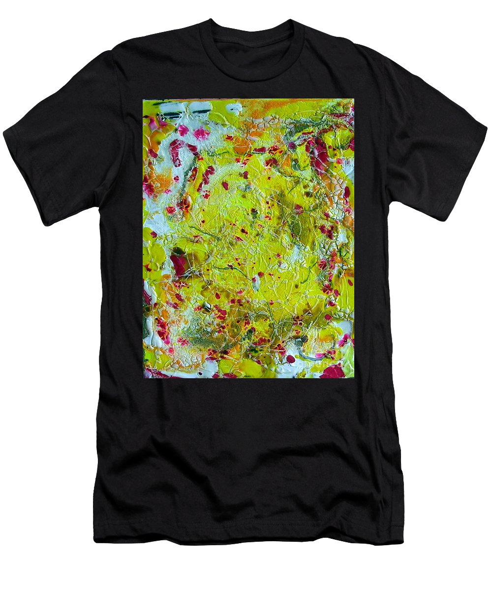 Men's T-Shirt (Athletic Fit) featuring the painting One Soul by Dawn Hough Sebaugh