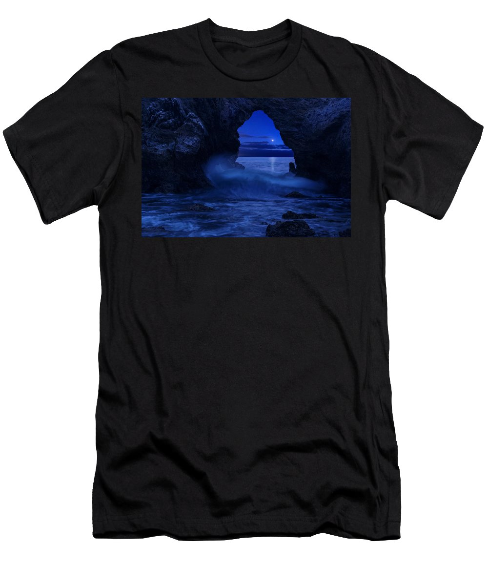 California Men's T-Shirt (Athletic Fit) featuring the photograph Only Dreams by Dustin LeFevre