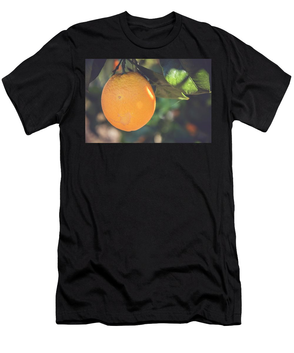 Nature Men's T-Shirt (Athletic Fit) featuring the photograph Orange #2 by Ignacio Leal Orozco