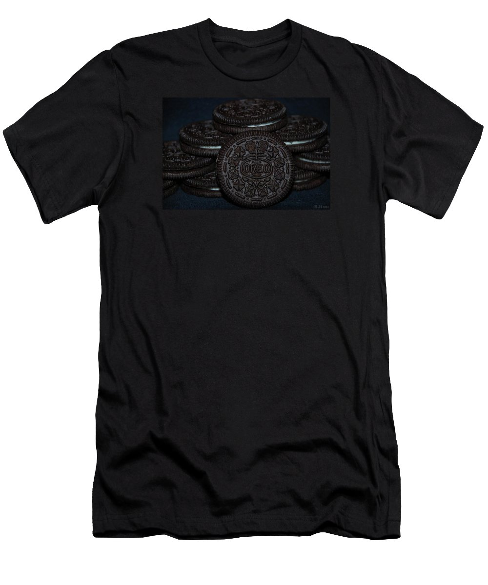Oreo Men's T-Shirt (Athletic Fit) featuring the photograph Oreo Cookies by Rob Hans