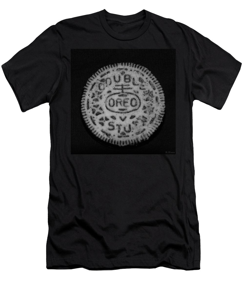 Oreo Men's T-Shirt (Athletic Fit) featuring the photograph Oreo In Matte Finish by Rob Hans