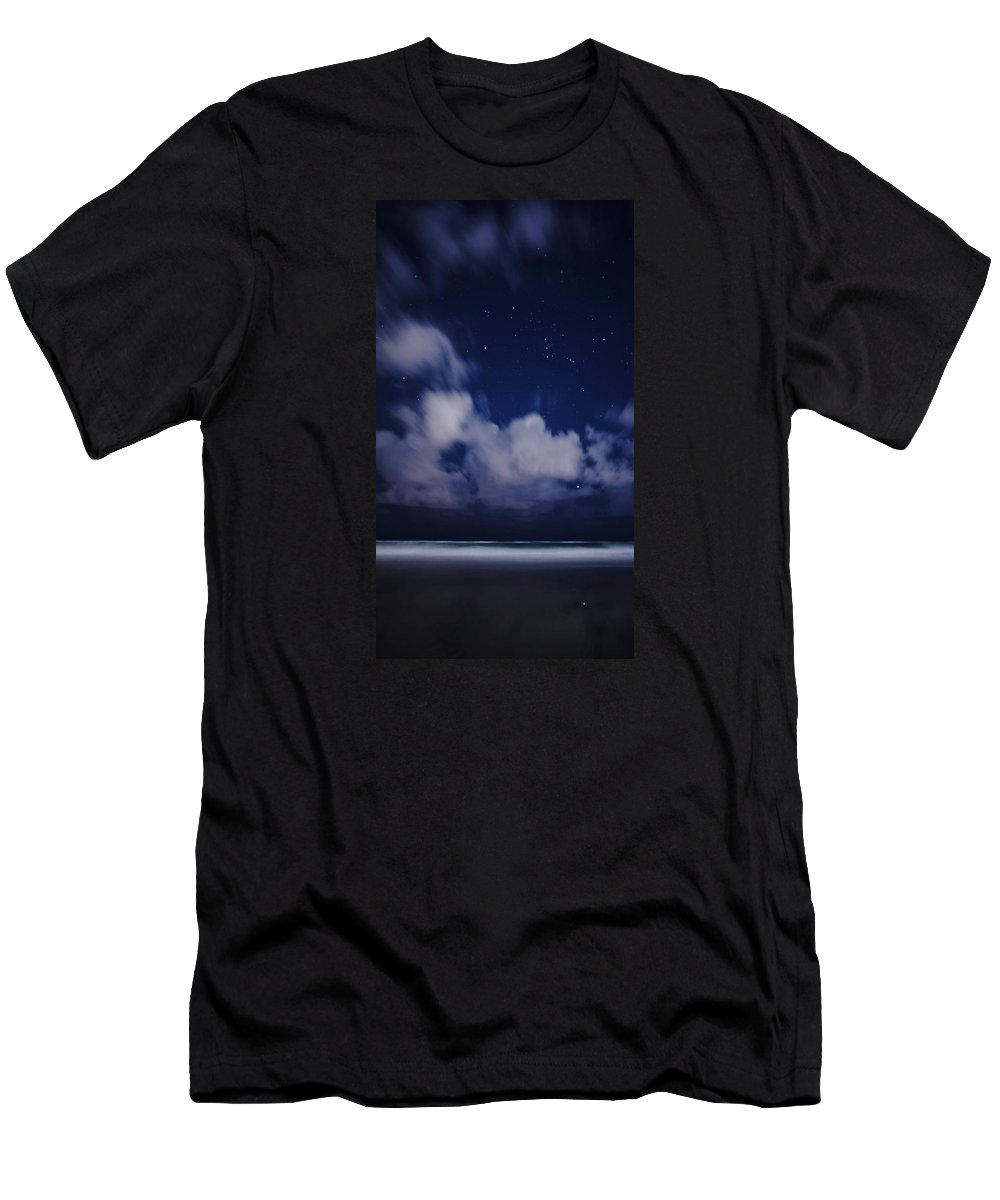 Orion Men's T-Shirt (Athletic Fit) featuring the photograph Orion Beach by Lawrence S Richardson Jr