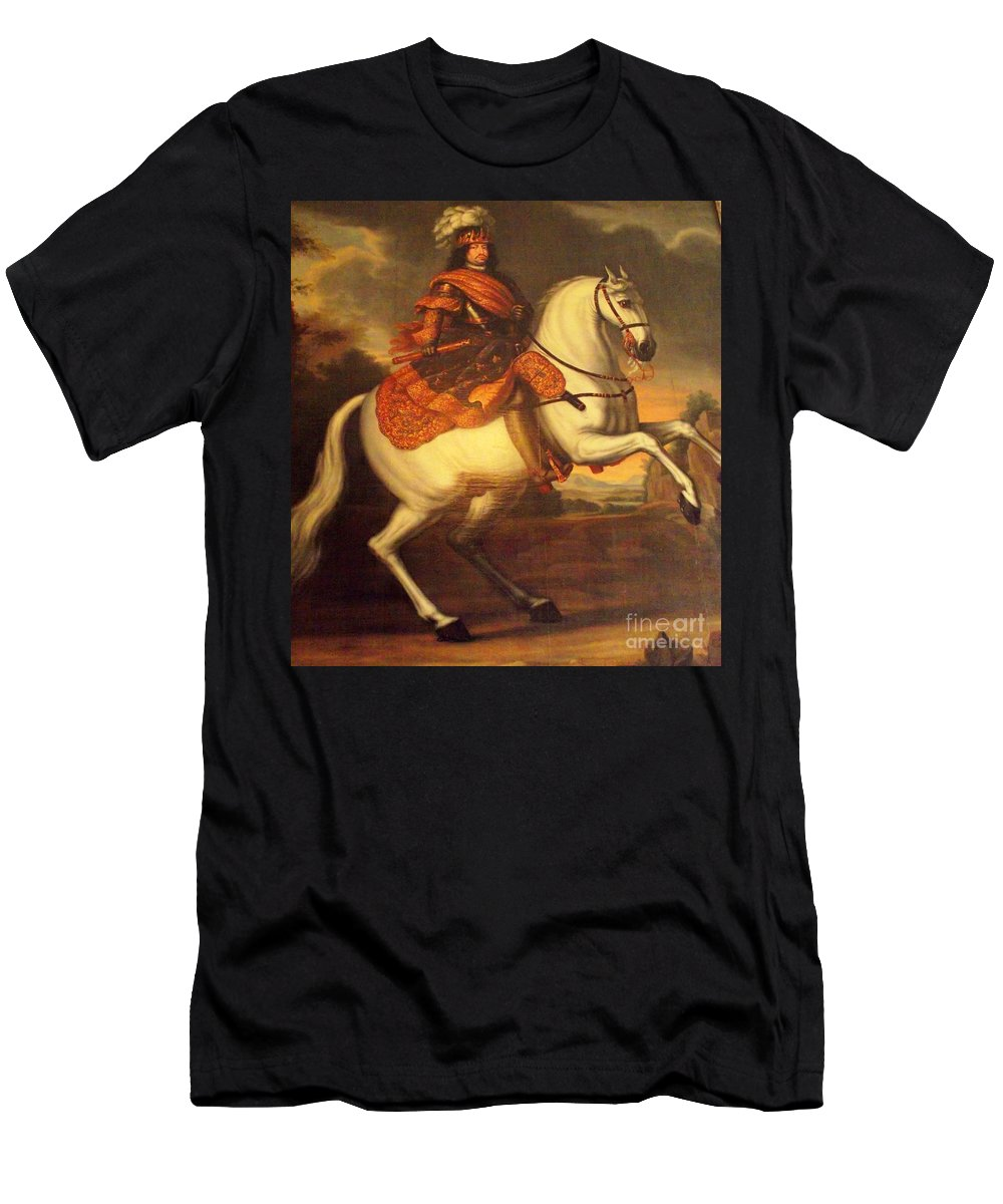 Denmark Men's T-Shirt (Athletic Fit) featuring the photograph Painting In Denmark by James Carr