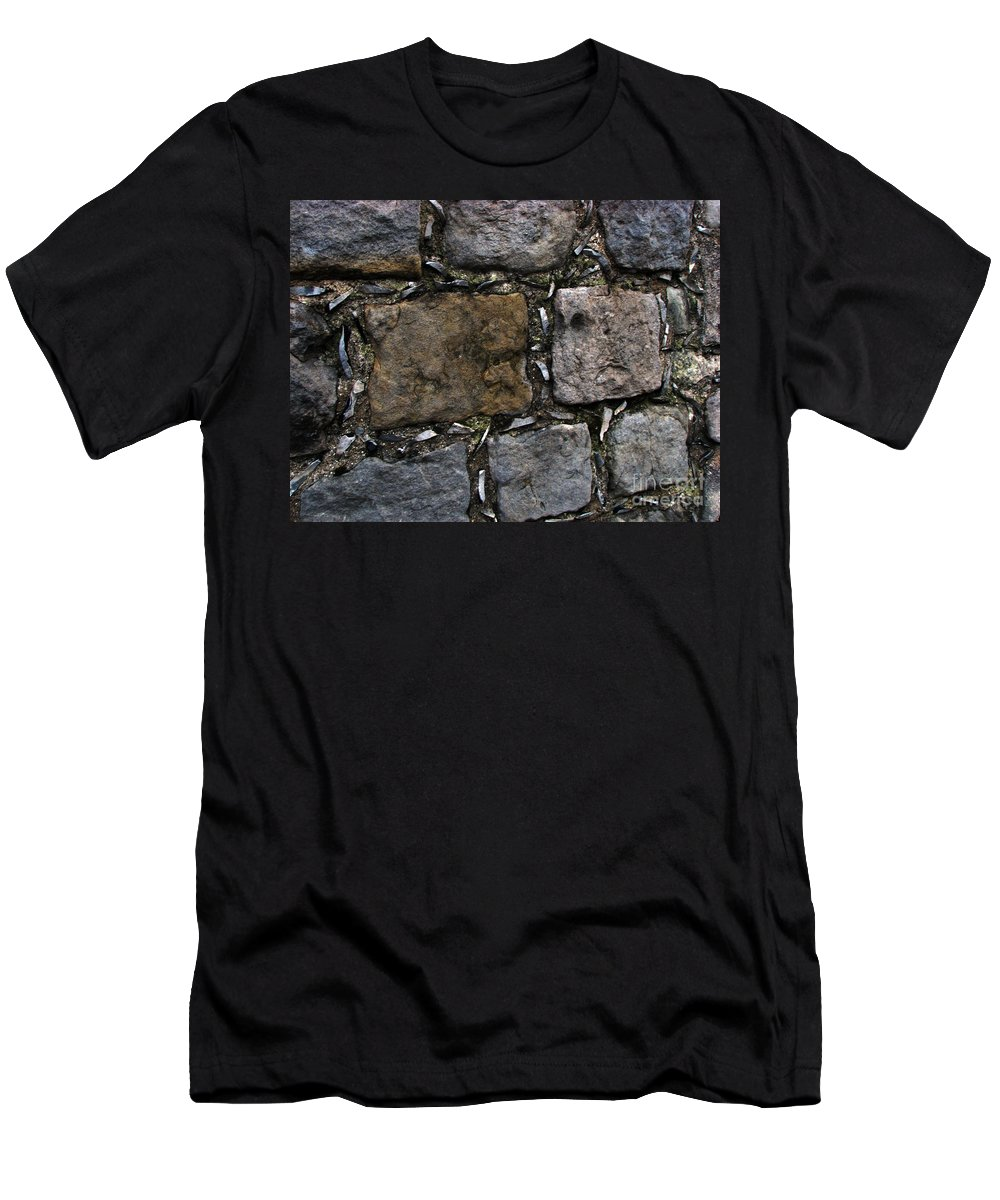 Bath Men's T-Shirt (Athletic Fit) featuring the photograph Palace Walls by Amanda Barcon