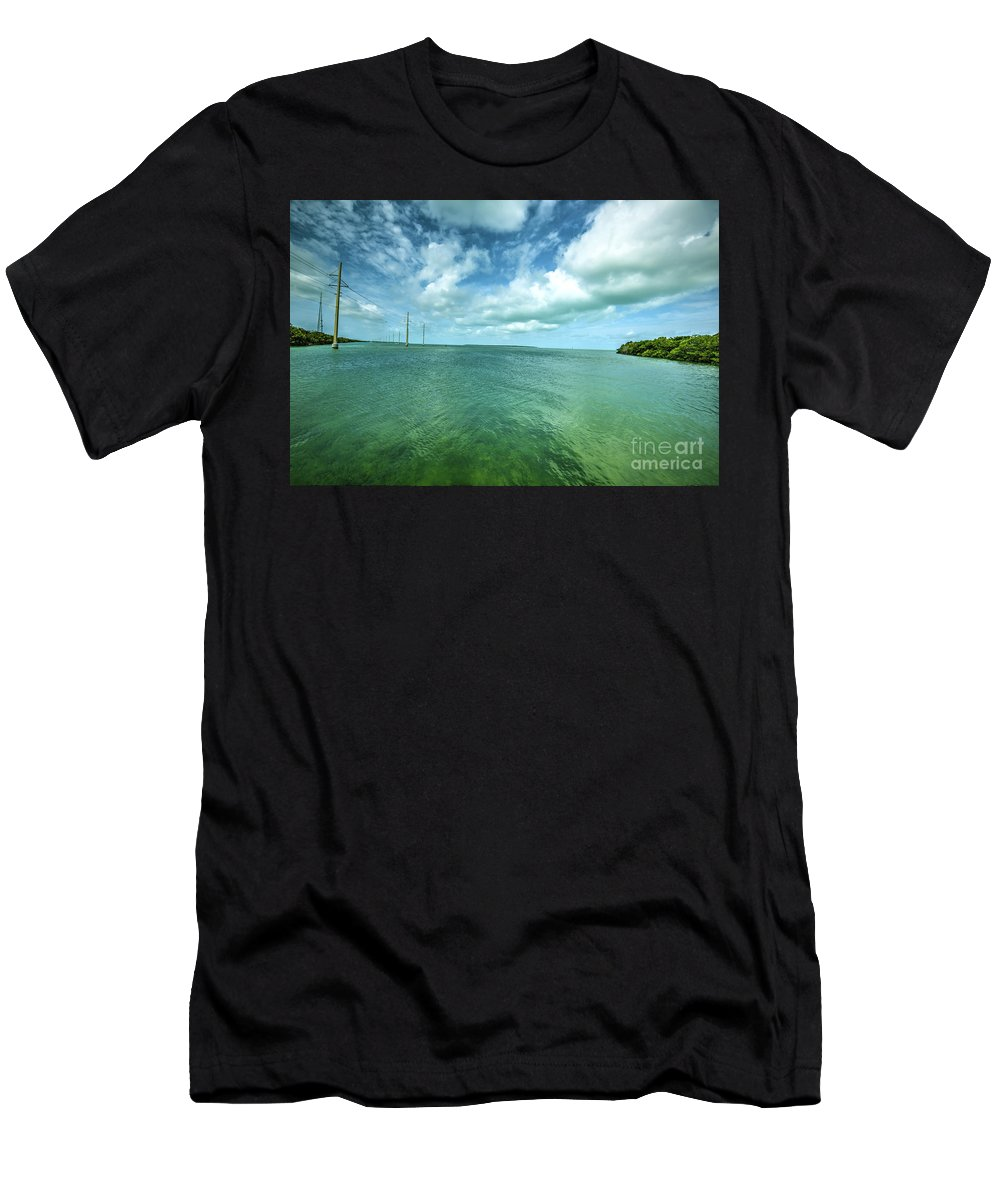 Photography Men's T-Shirt (Athletic Fit) featuring the photograph Paradise On Earth, Florida Keys by Felix Lai