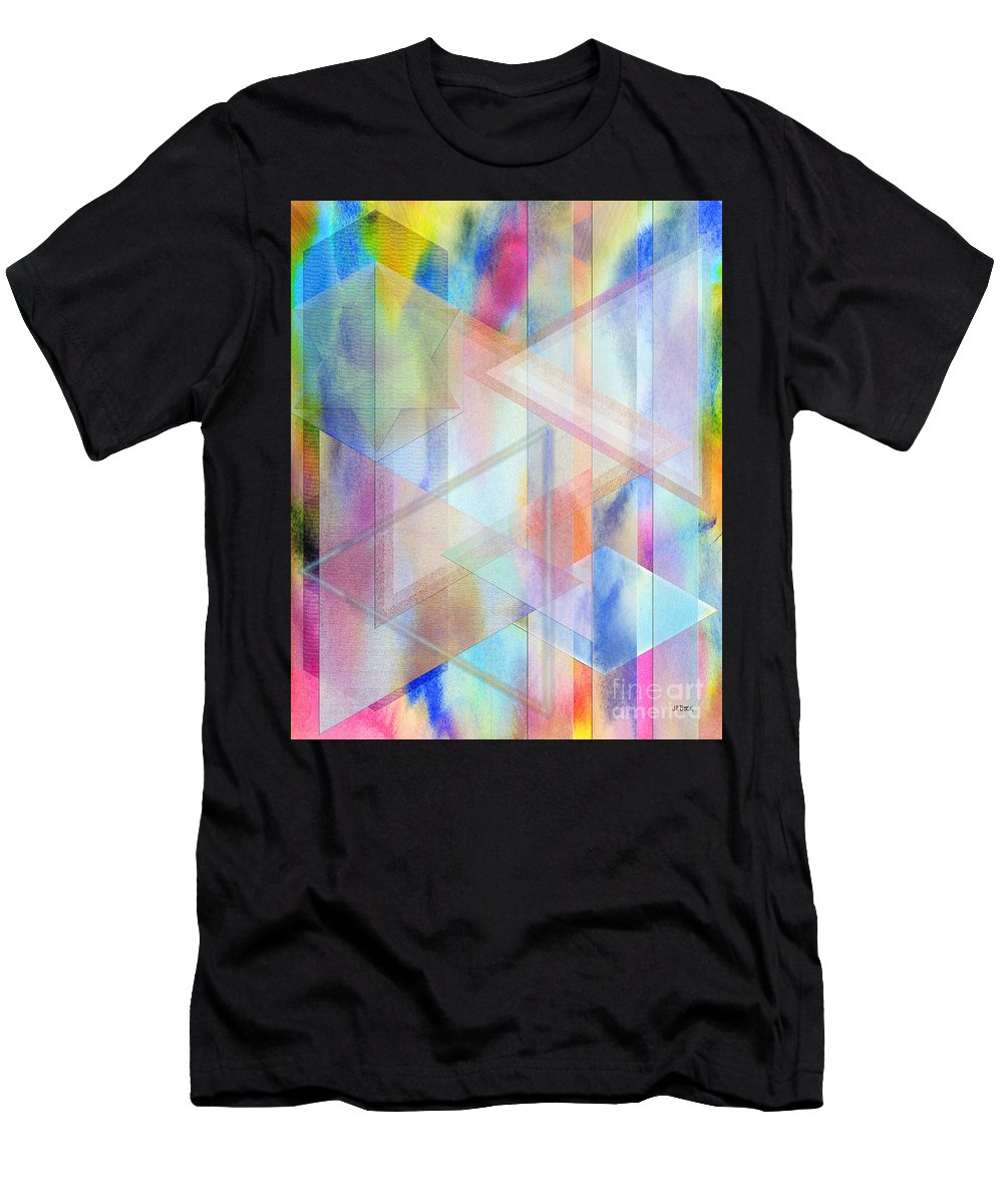 Pastoral Moment Men's T-Shirt (Athletic Fit) featuring the digital art Pastoral Moment by John Beck