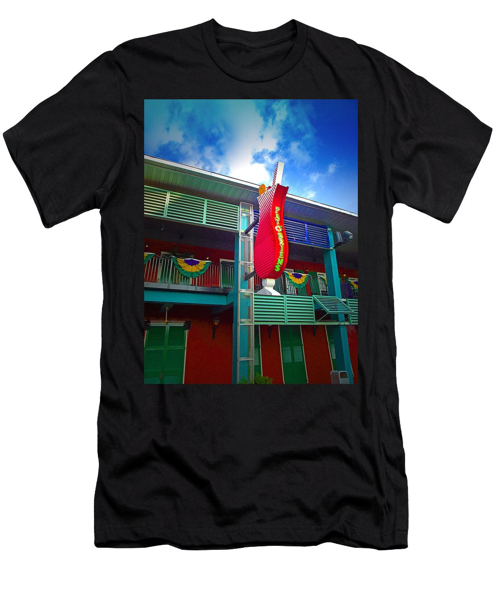 Restaurant T-Shirt featuring the photograph Pat O'briens by Gary Adkins