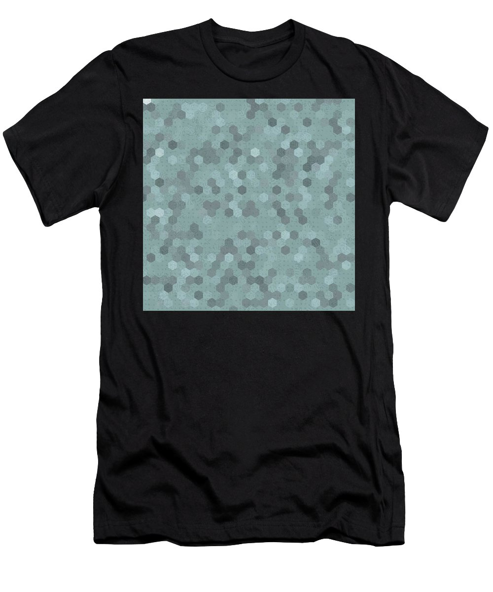 Pattern 101 Men's T-Shirt (Athletic Fit) featuring the digital art Pattern 101 by Marko Sabotin