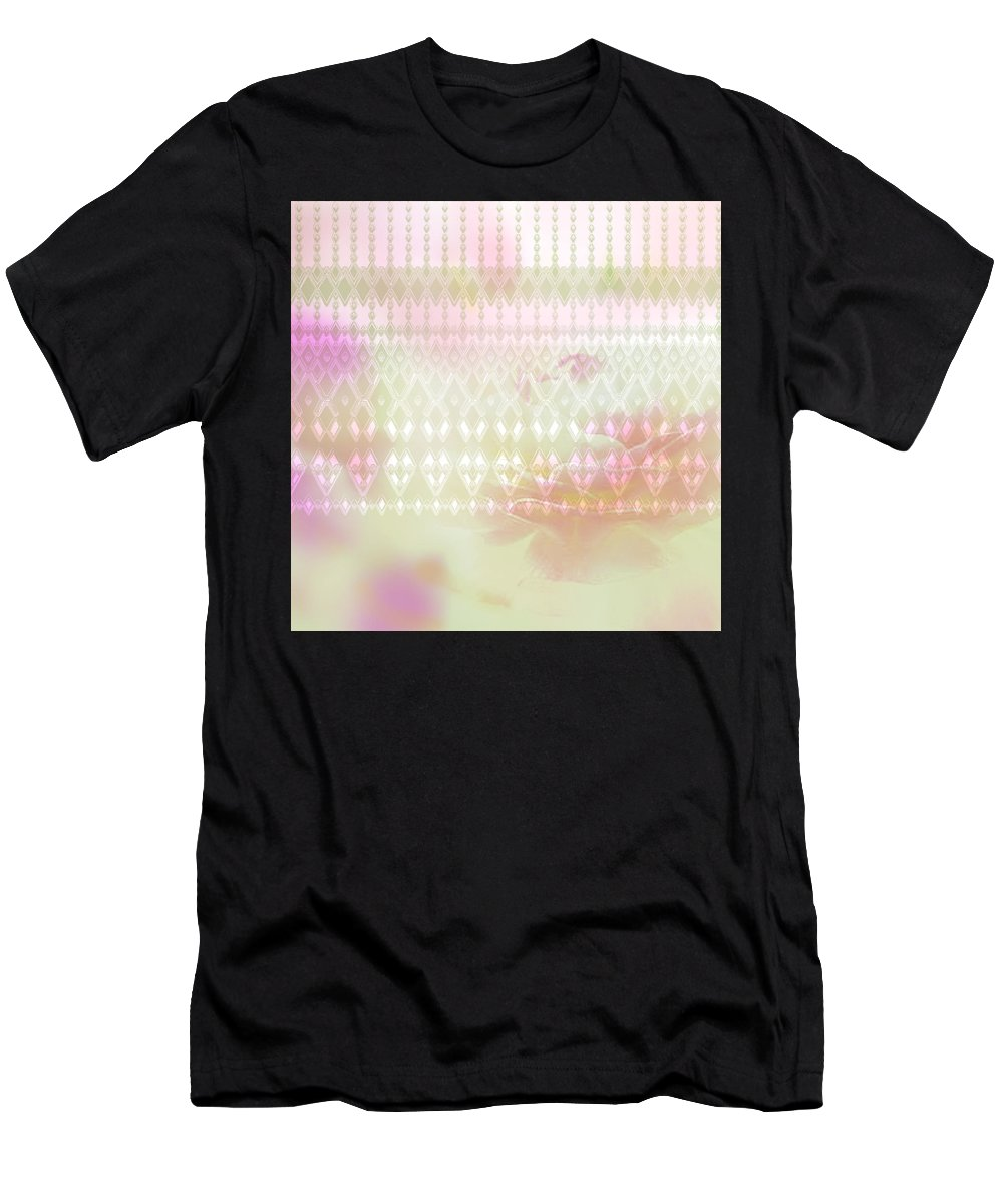 Pattern Men's T-Shirt (Athletic Fit) featuring the digital art Pattern 188 by Irina Effa