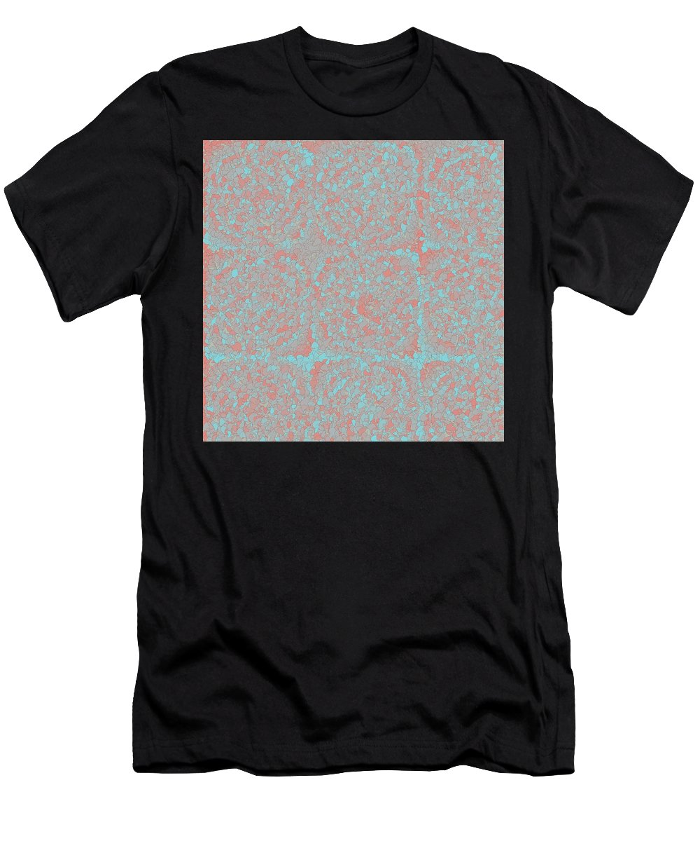 Pattern 57 Men's T-Shirt (Athletic Fit) featuring the digital art Pattern 57 by Marko Sabotin