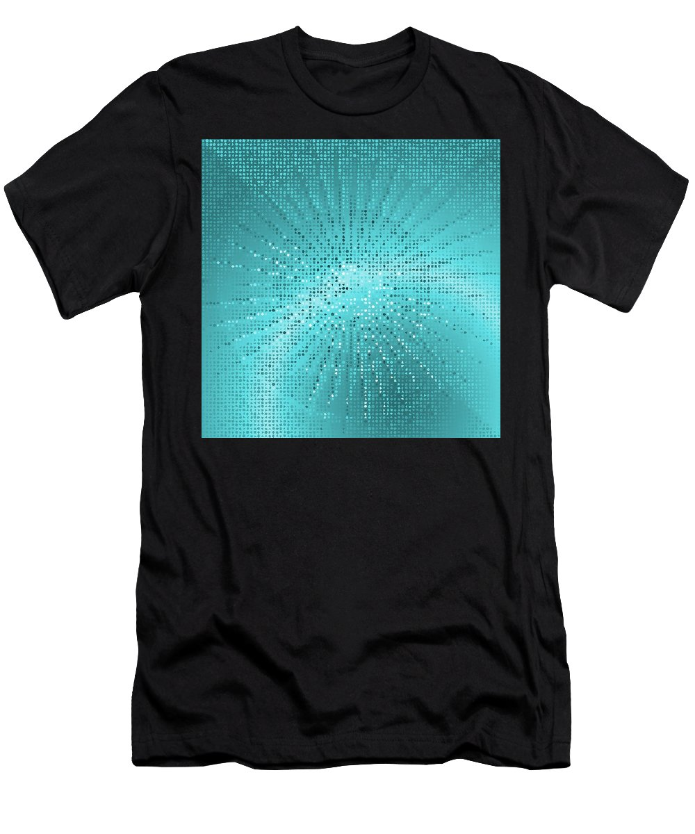 Pattern 77 Men's T-Shirt (Athletic Fit) featuring the digital art Pattern 77 by Marko Sabotin