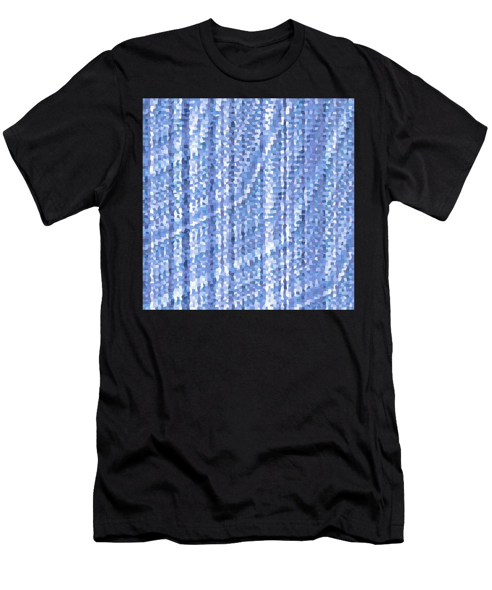 Pattern 91 Men's T-Shirt (Athletic Fit) featuring the digital art Pattern 91 by Marko Sabotin
