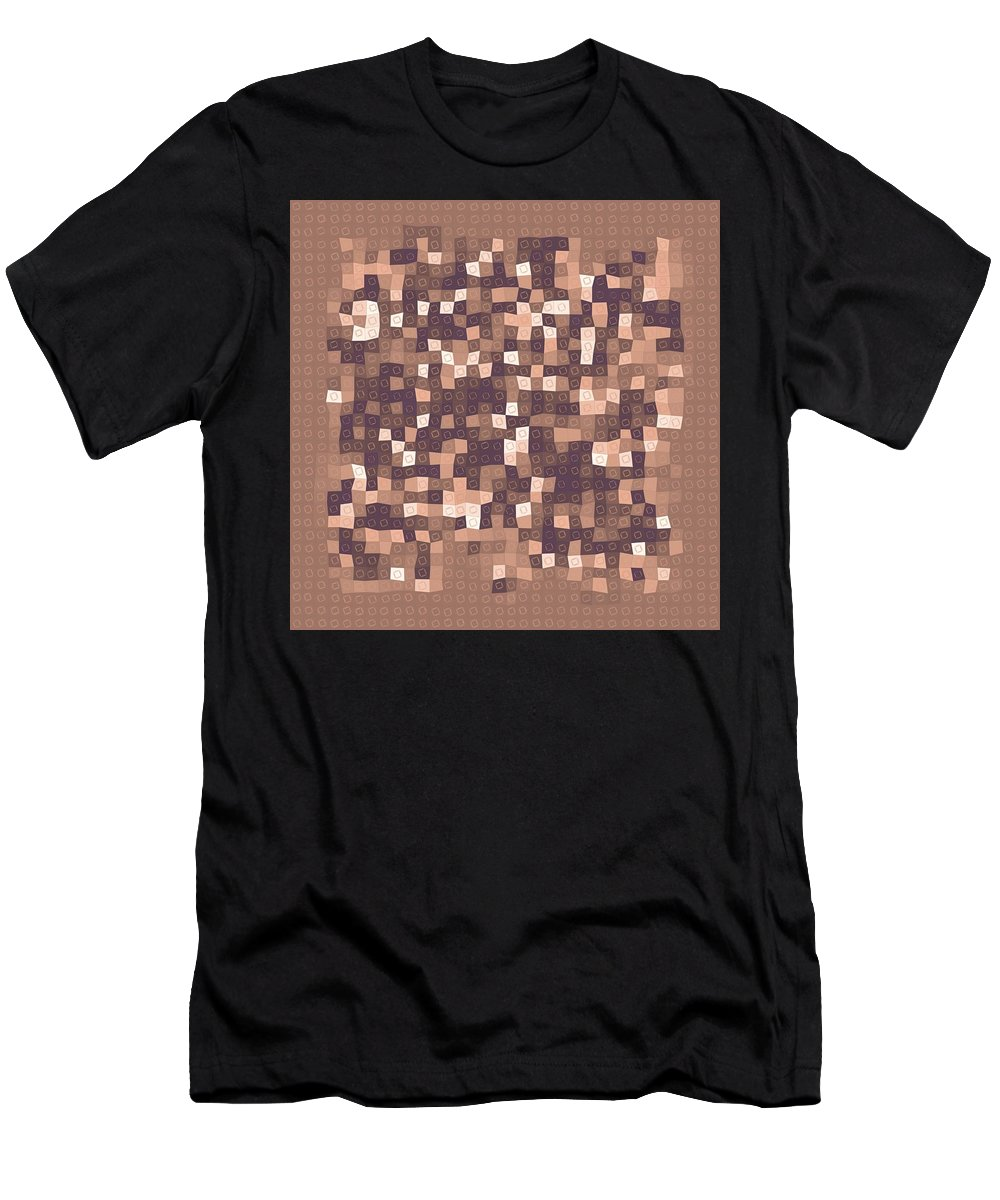 Pattern 94 Men's T-Shirt (Athletic Fit) featuring the digital art Pattern 94 by Marko Sabotin