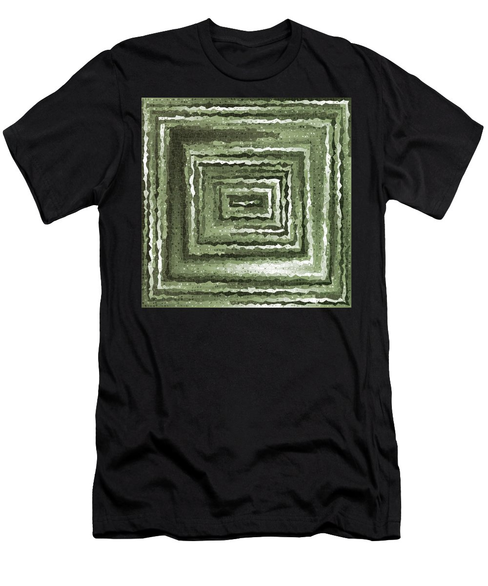 Pattern 96 Men's T-Shirt (Athletic Fit) featuring the digital art Pattern 96 by Marko Sabotin