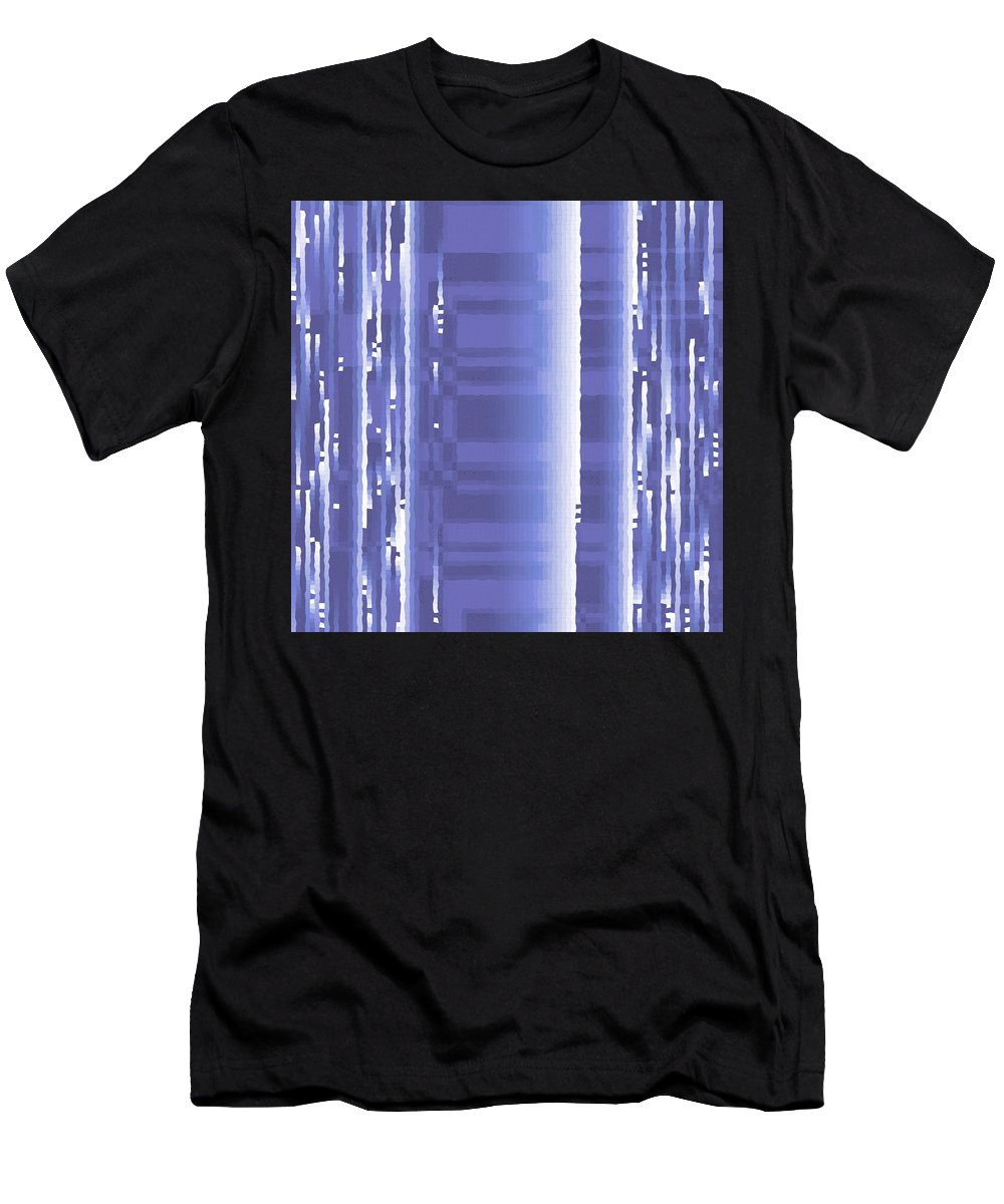 Pattern 97 Men's T-Shirt (Athletic Fit) featuring the digital art Pattern 97 by Marko Sabotin
