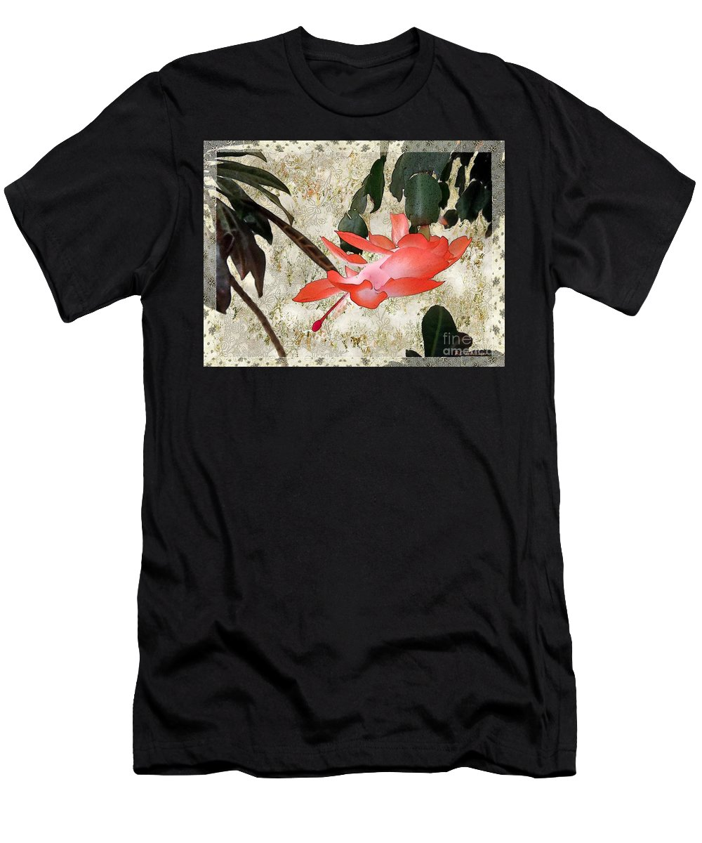 Victorian Men's T-Shirt (Athletic Fit) featuring the painting Penny Postcard Japonaise by RC DeWinter