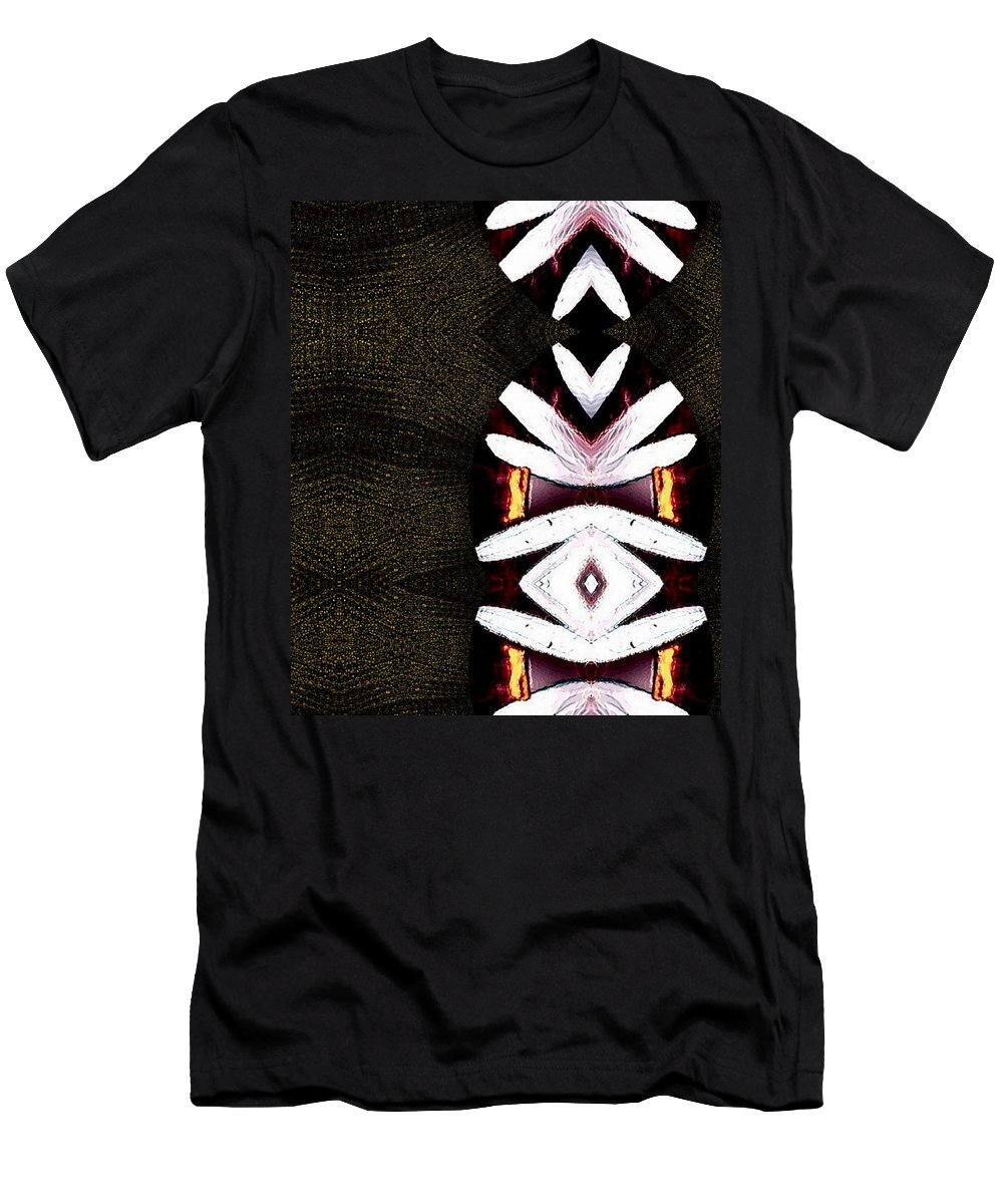 Oriental Men's T-Shirt (Athletic Fit) featuring the mixed media Pepitas Oriental Art by Pepita Selles