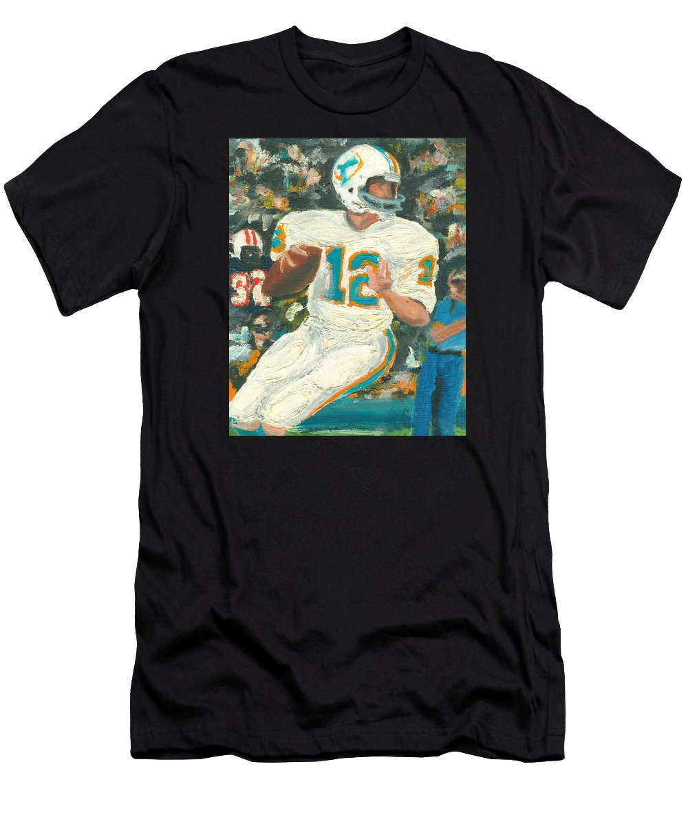 Miami Men's T-Shirt (Athletic Fit) featuring the painting Perfect12 by Jorge Delara