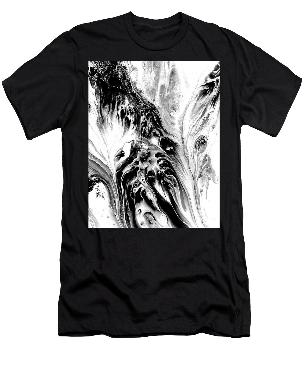 Men's T-Shirt (Athletic Fit) featuring the painting Phantoms by Destiny Womack