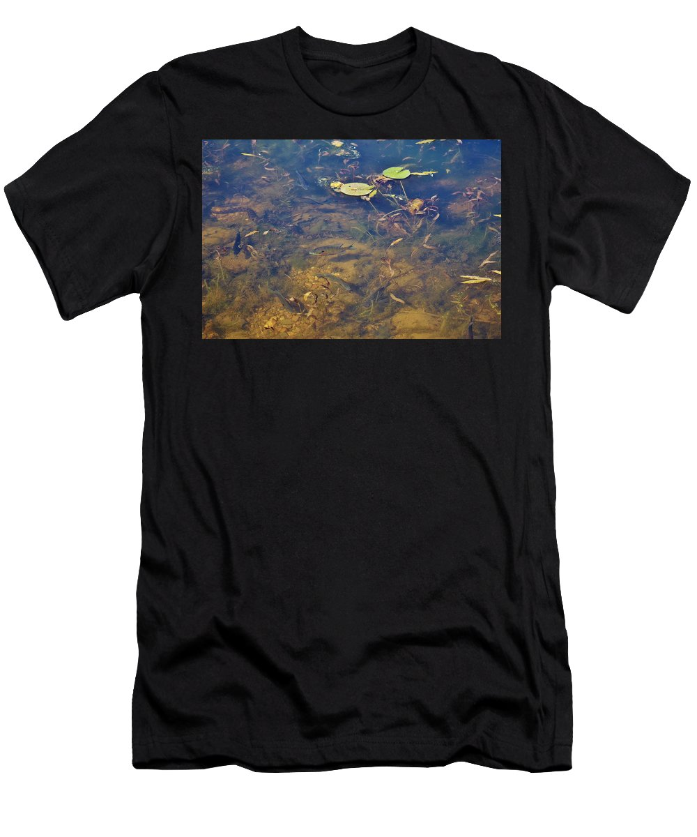 Photo Bomb Men's T-Shirt (Athletic Fit) featuring the photograph Photo Bomb  Snk1a by Wanda Gancarz