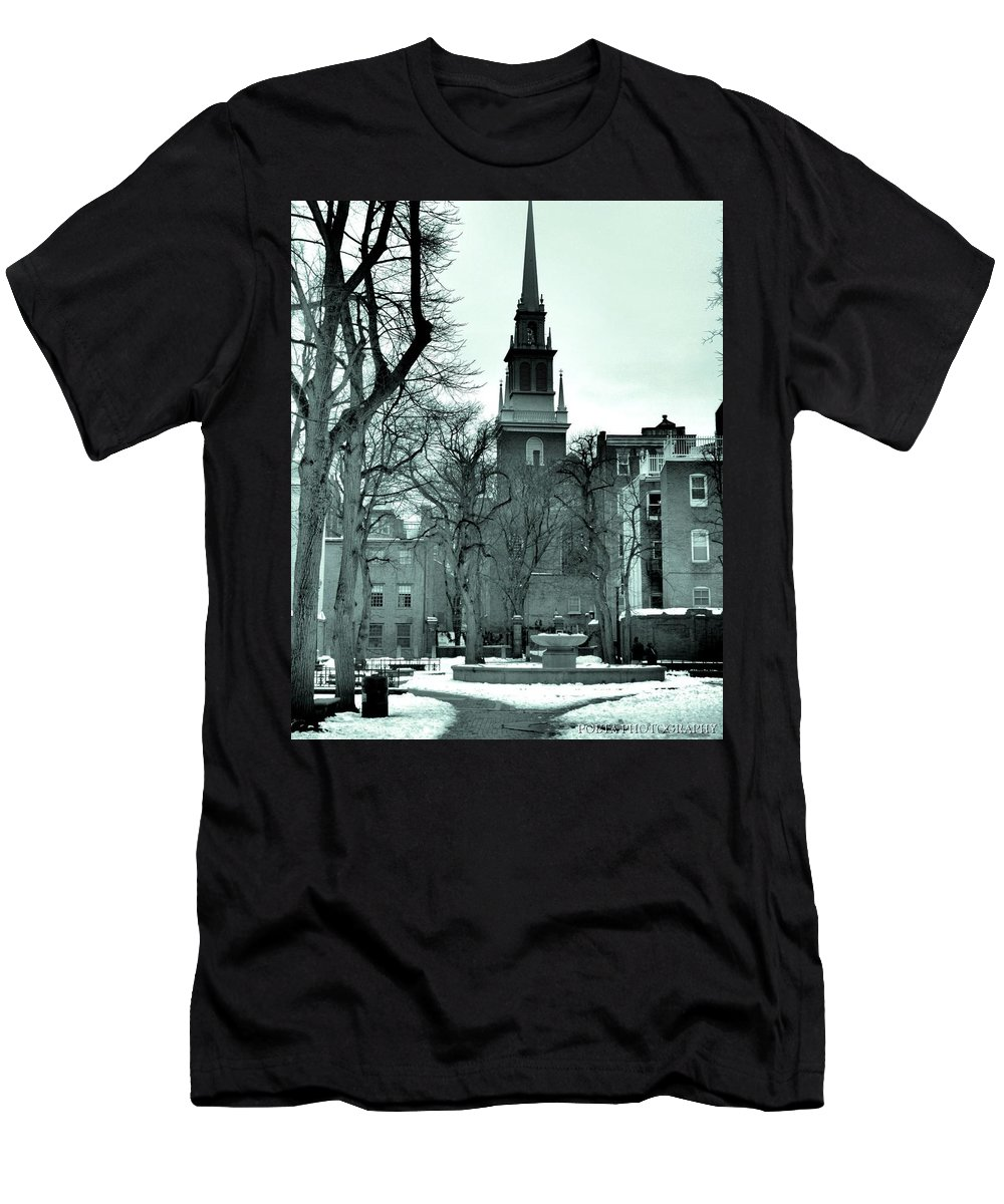 Church Men's T-Shirt (Athletic Fit) featuring the photograph Photographt by Joshua Poeta