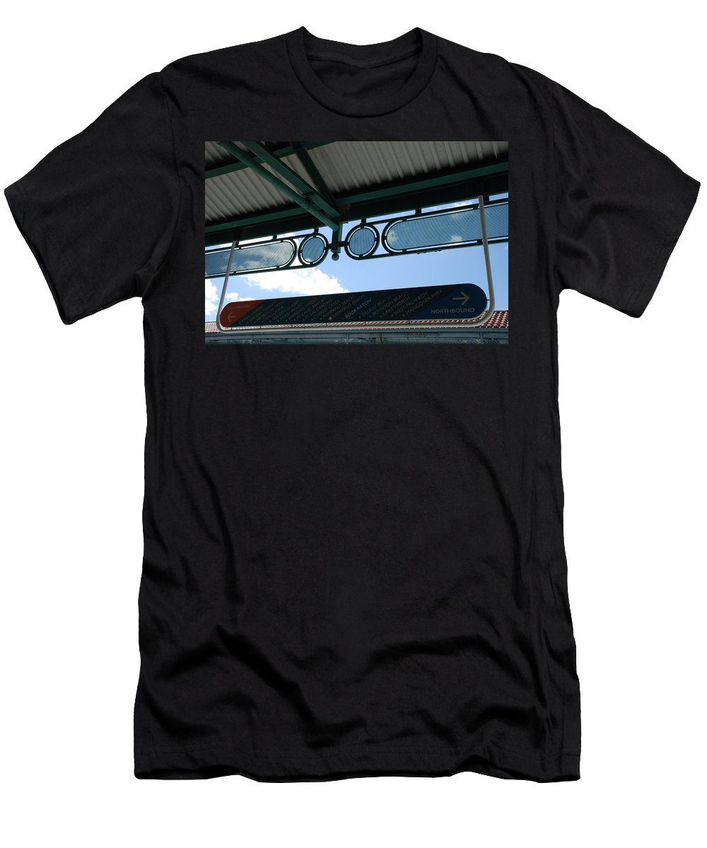 Cities Men's T-Shirt (Athletic Fit) featuring the photograph Pick A Town Any Town by Rob Hans