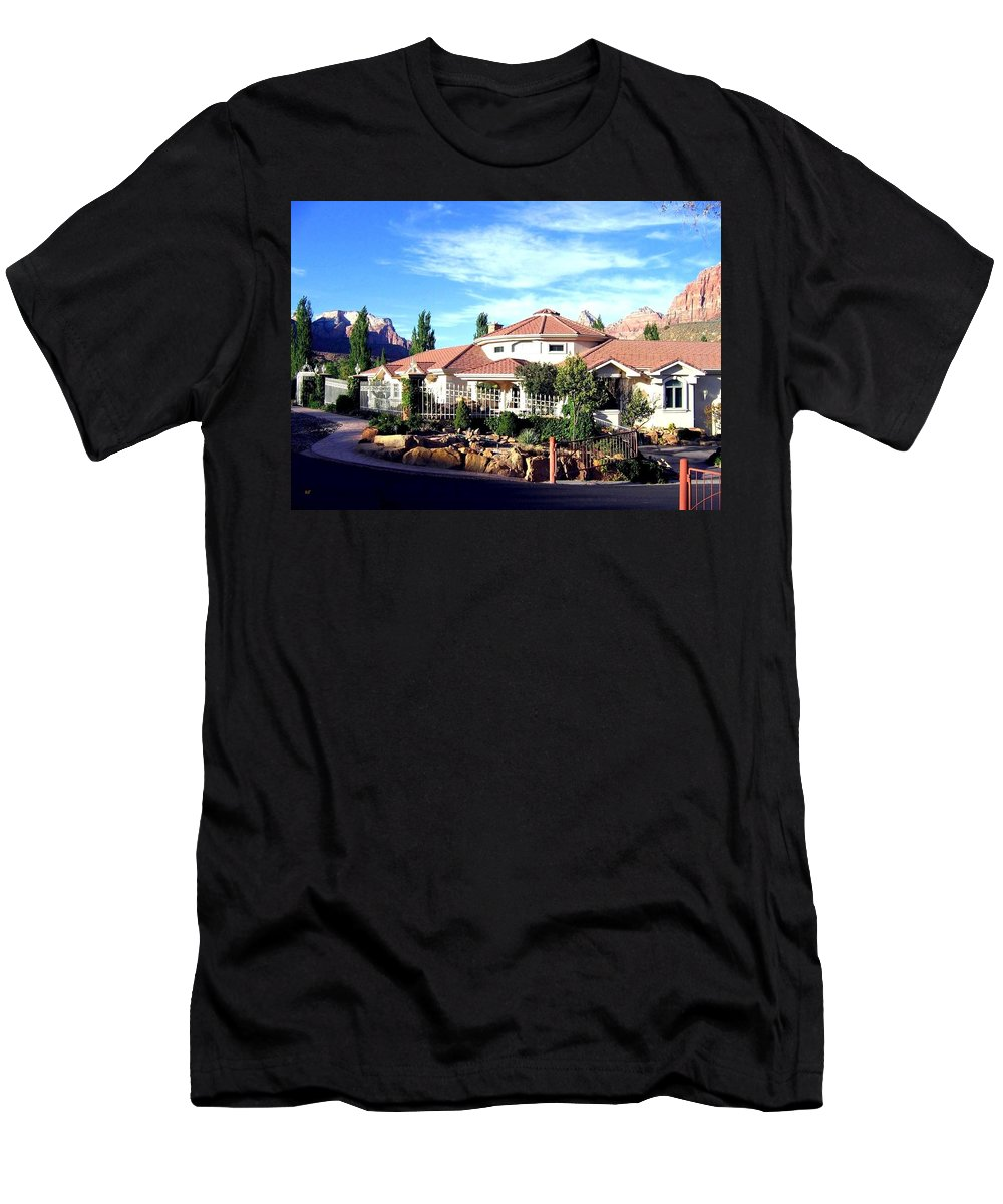 Utah Men's T-Shirt (Athletic Fit) featuring the photograph Picturesque Utah by Will Borden