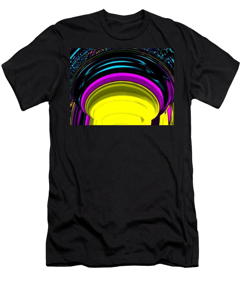 Light Men's T-Shirt (Athletic Fit) featuring the digital art Pillar Of Light by Will Borden