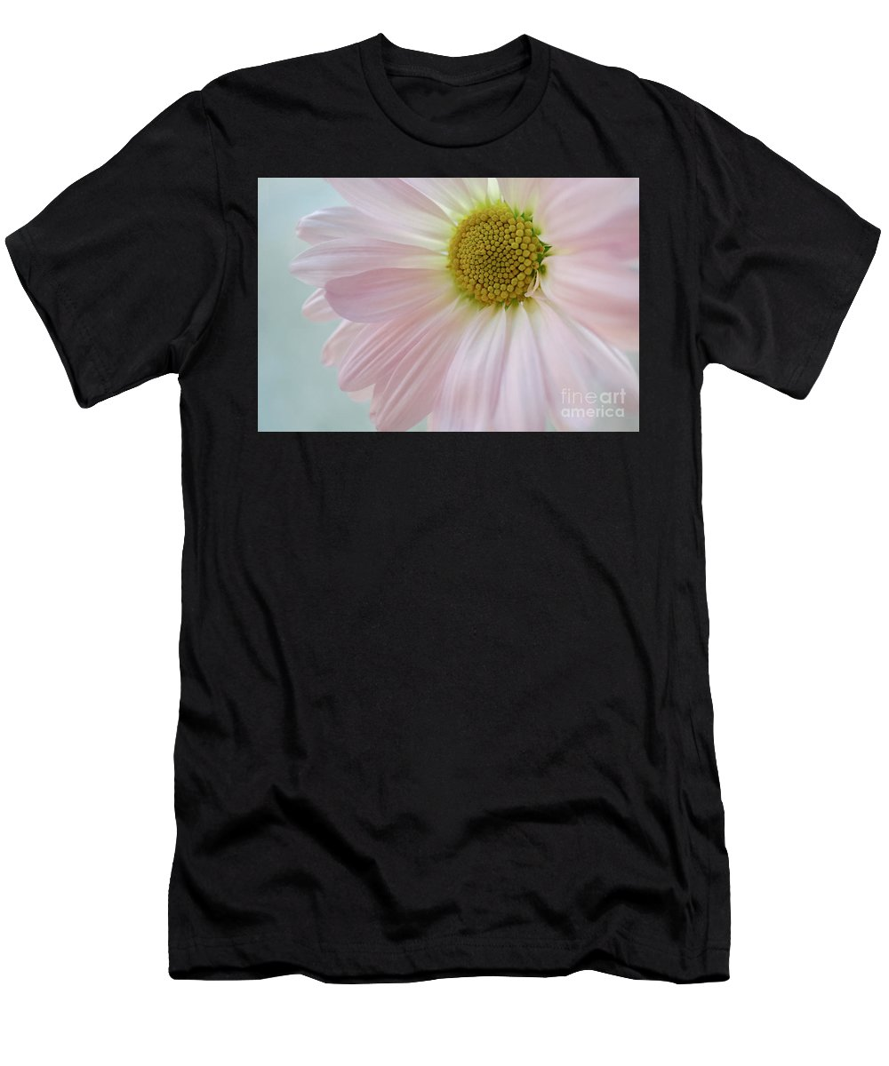Flowers Men's T-Shirt (Athletic Fit) featuring the photograph Pink Perfection by Susan Garver