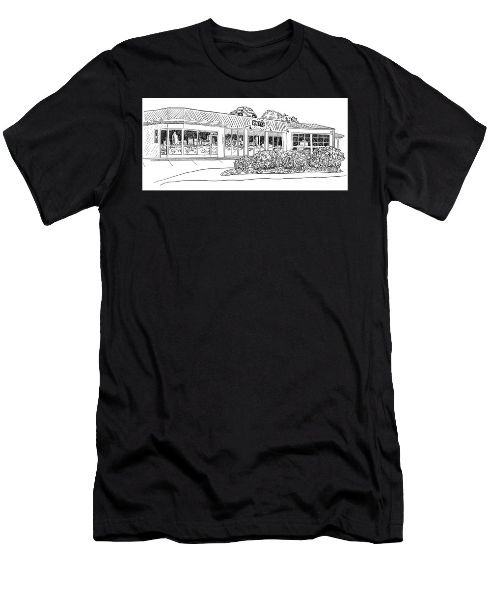 Digital Men's T-Shirt (Athletic Fit) featuring the digital art Pinkys by Robert Yaeger