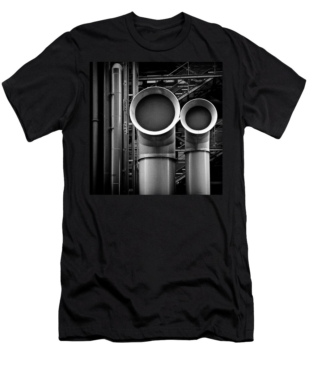 Industry Men's T-Shirt (Athletic Fit) featuring the photograph Pipes by Dave Bowman