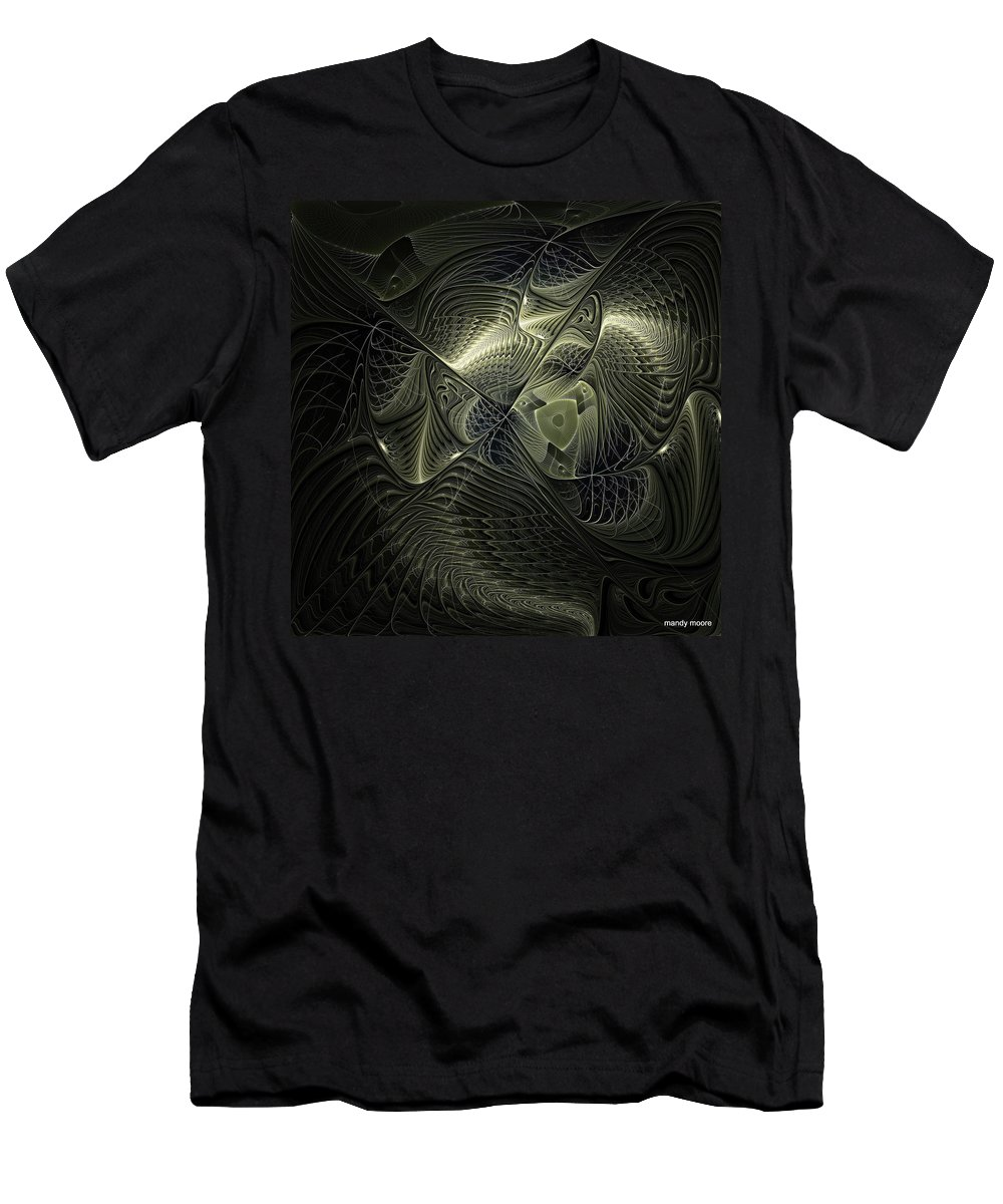 Digital Art Men's T-Shirt (Athletic Fit) featuring the digital art Piscean I by Amanda Moore