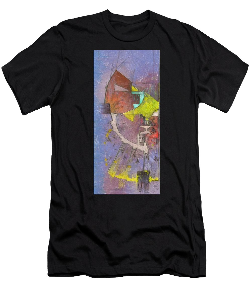 Men's T-Shirt (Athletic Fit) featuring the digital art Plantacoloreada by Ramon Avila