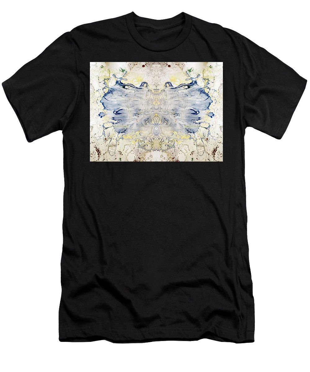 Fluid Men's T-Shirt (Athletic Fit) featuring the digital art Plastic Fly by Sumit Mehndiratta