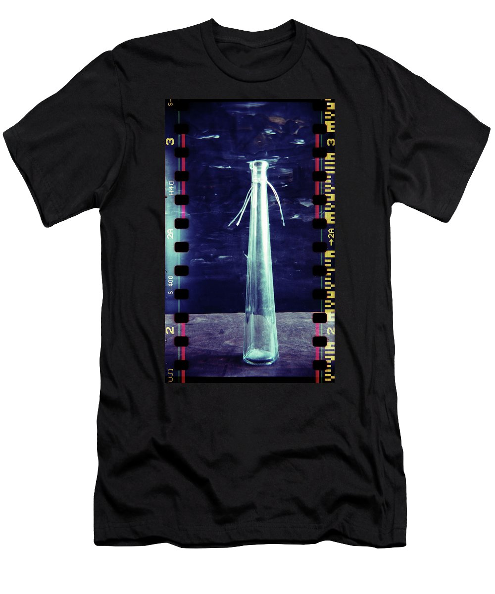 Abstract Men's T-Shirt (Athletic Fit) featuring the photograph Playground #156f by Andrey Godyaykin