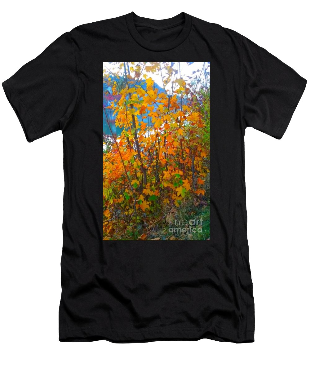 Men's T-Shirt (Athletic Fit) featuring the photograph Plentiful Mystery by Alexandra Felecan