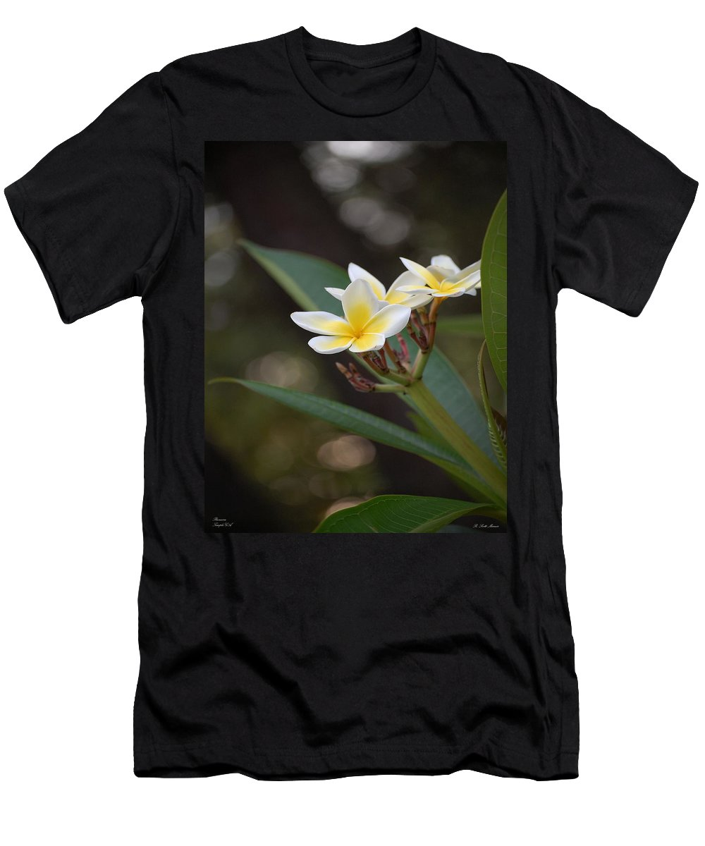 Plumeria Men's T-Shirt (Athletic Fit) featuring the photograph Plumeria II by Robert Meanor