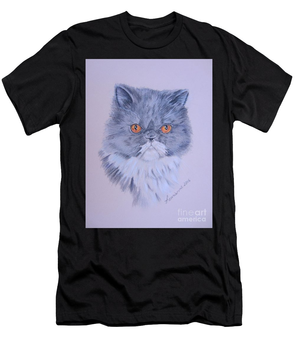Feline Men's T-Shirt (Athletic Fit) featuring the pastel Princess by Laurianna Taylor