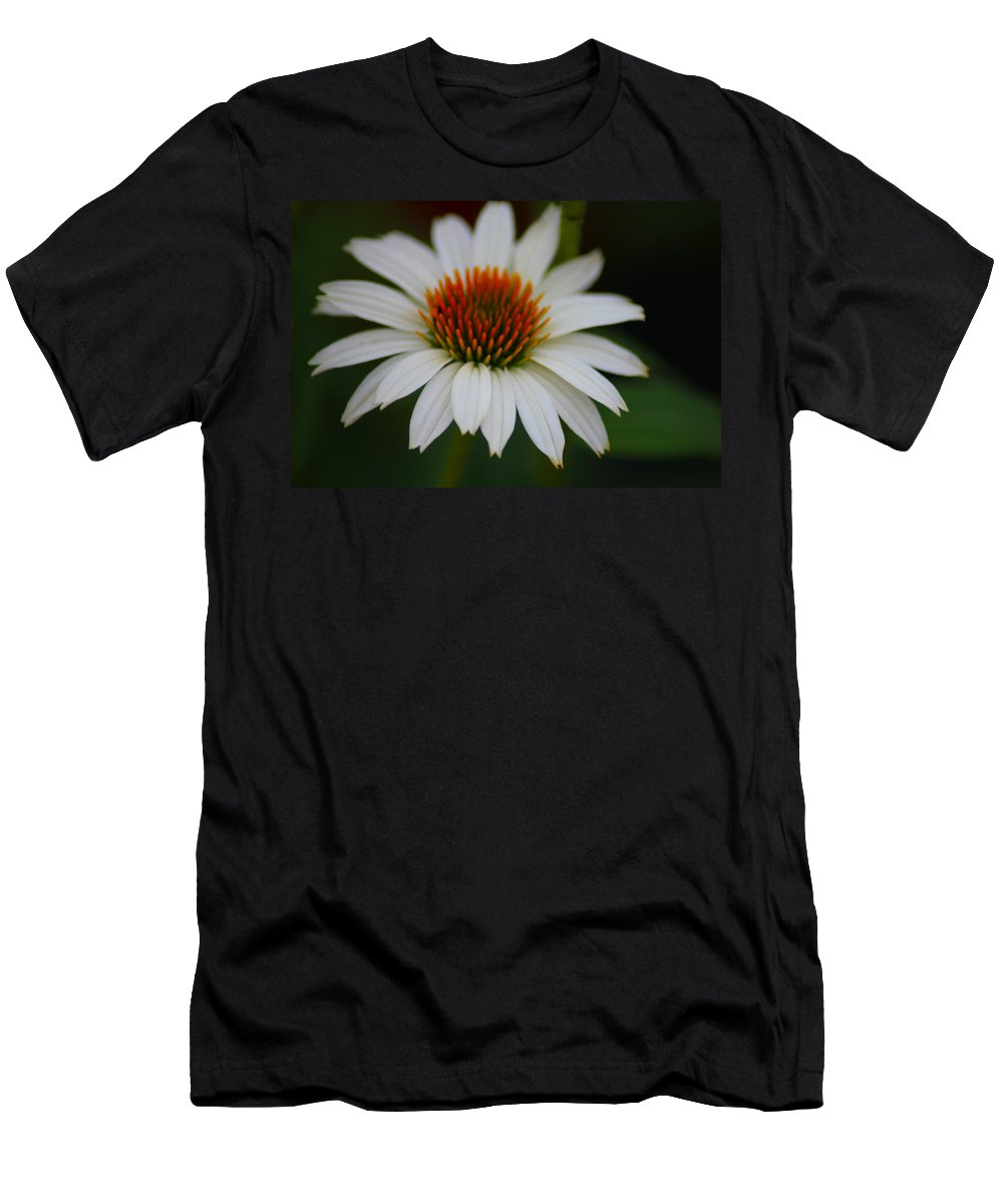 Flower Men's T-Shirt (Athletic Fit) featuring the photograph Pure And Simple by Karen Wagner