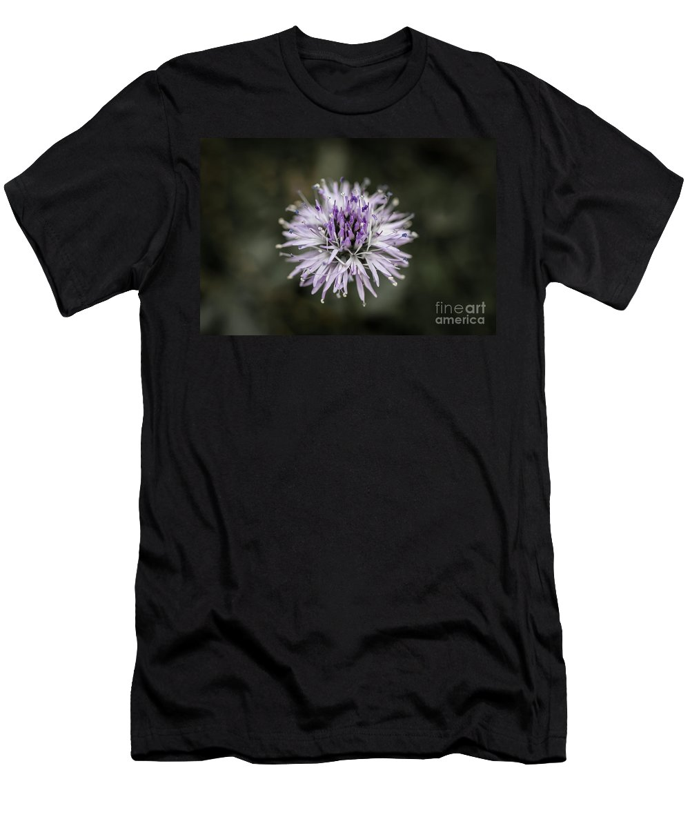 Colorado Men's T-Shirt (Athletic Fit) featuring the photograph Purple Bloom by Ashley M Conger