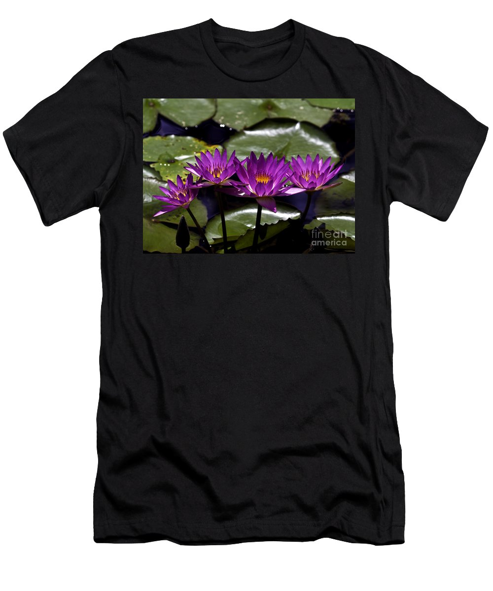 Fine Art Photo Men's T-Shirt (Athletic Fit) featuring the photograph Quad Four Two by Ken Frischkorn