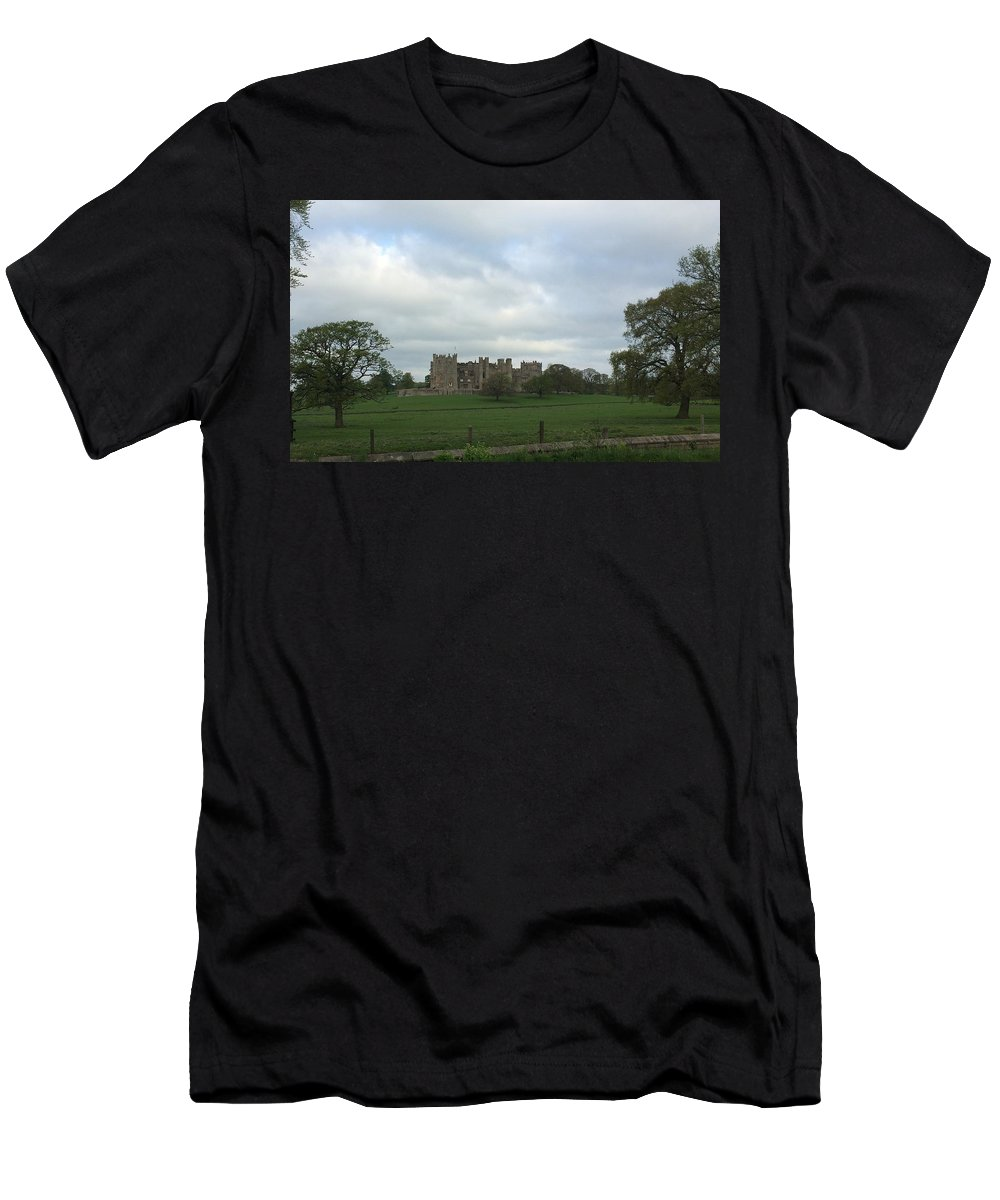 Men's T-Shirt (Athletic Fit) featuring the photograph Raby Castle by Dock Tower